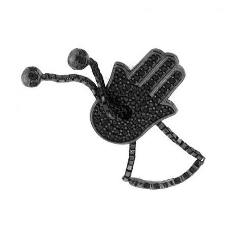 Anello moda a forma di mano di fatima
