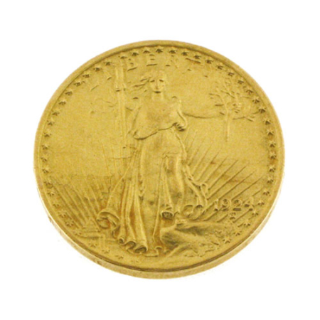 Moneta in oro 20 dollari 1924