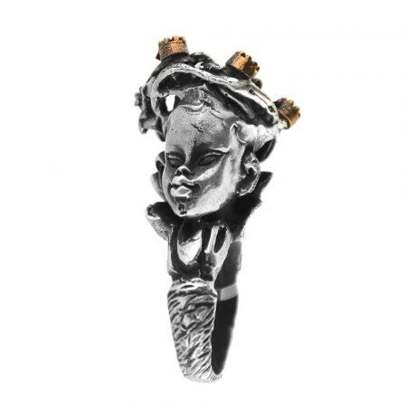 Anello in argento Fata dei Boschi