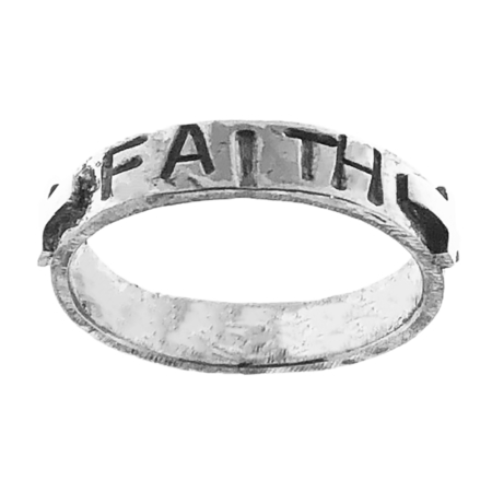 Fedina Faith fede con croci in argento